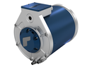 Grafic electric traction motor