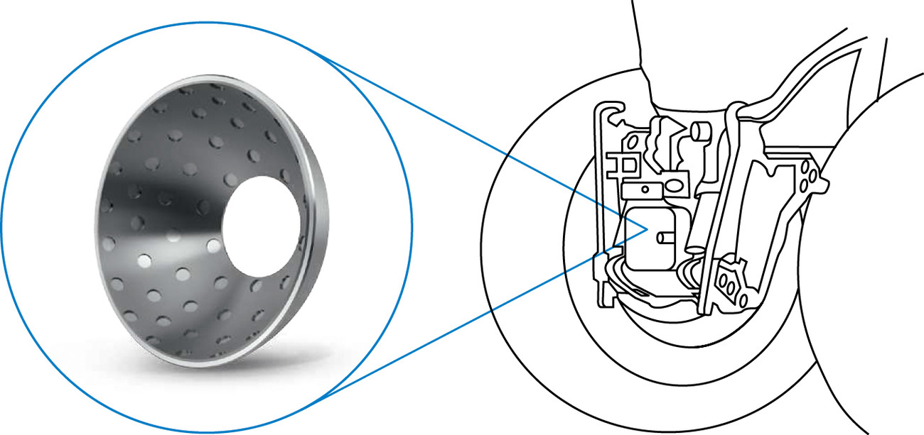 KS Permaglide® plain bearings ensures that the ball joints have a long service life.