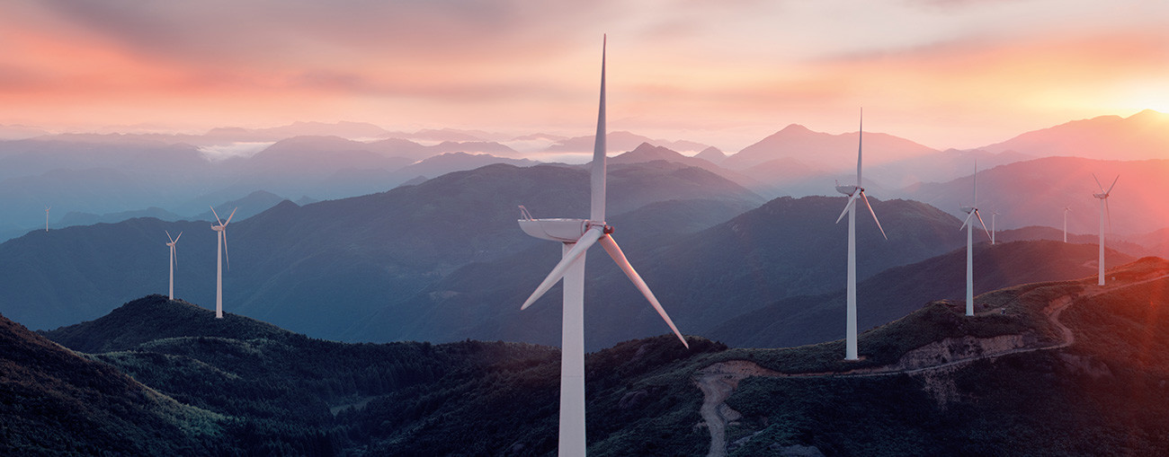[Translate to Deutsch:] Industrial bearings in wind turbine systems