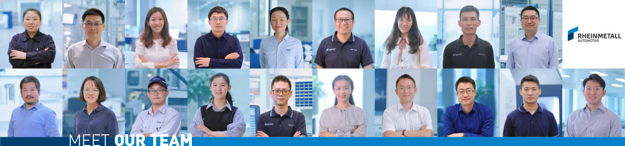 Meet the Rheinmetall Automotive Team in China