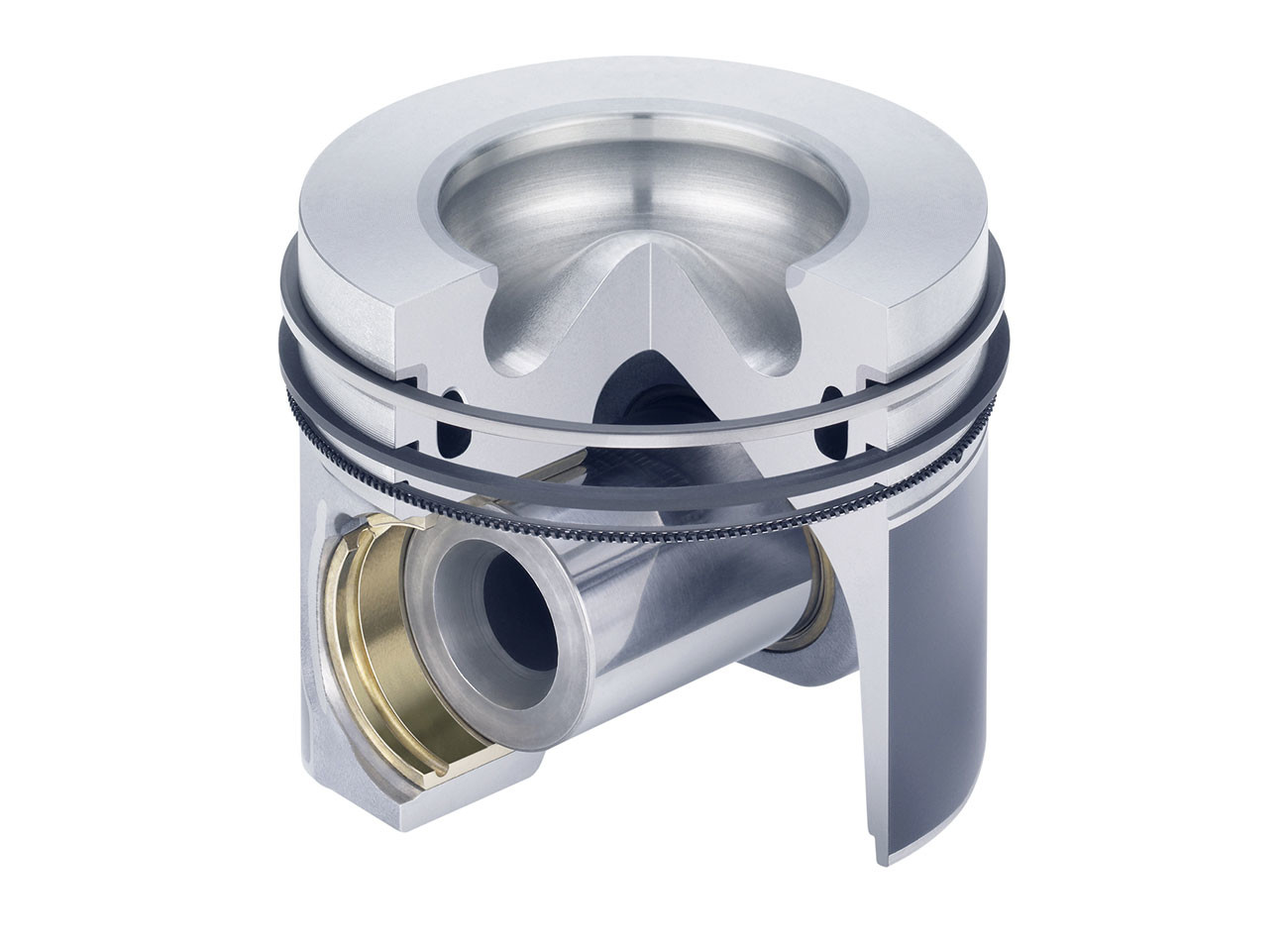 [Translate to Deutsch:] Kolbenschmidt aluminium pistons for passenger car diesel engines