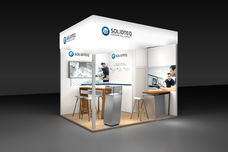 Solidteq Messestand AMX